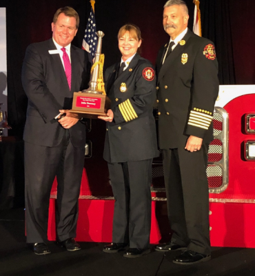 FIRE CHIEF OF THE YEAR