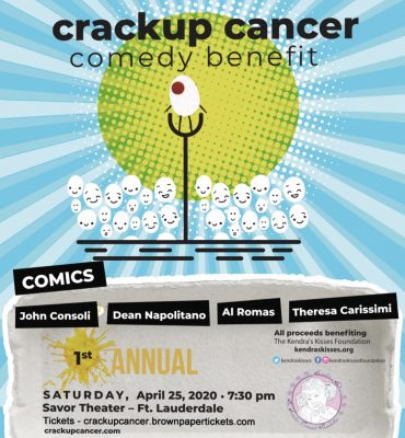 Crackup Cancer Comedy Benefit- April 25, 2020