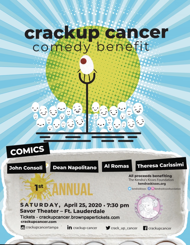 Crackup Cancer Comedy Benefit